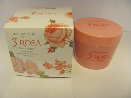 3 Rosa Crema corpo 200 ml