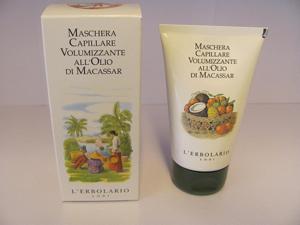 Maschera capillare olio di macassar