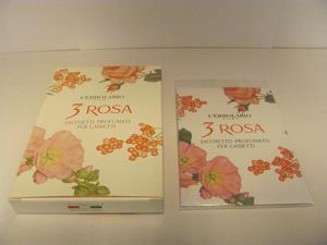 Sacchetti profumati 3 rosa