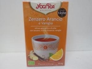 Zenzero arancia e vaniglia