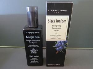 lozione deodorante ginepro nero