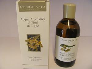 Acqua aromatica fiori di tiglio