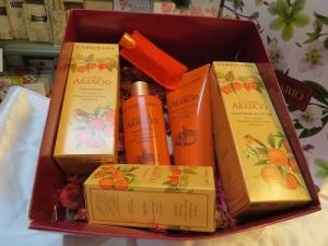 confezione regalo accordo arancio