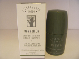 Deo roll on erbolario uomo