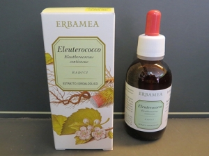 estratto idroalcolico eleuterococco (tintura madre)