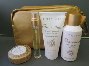 beauty -set da viaggio-osmanthus erbolario