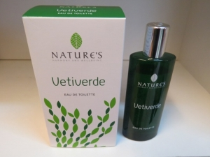profumo vetiverde di nature's