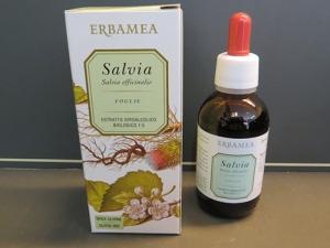 estratto idroalcolico salvia (tintura madre)