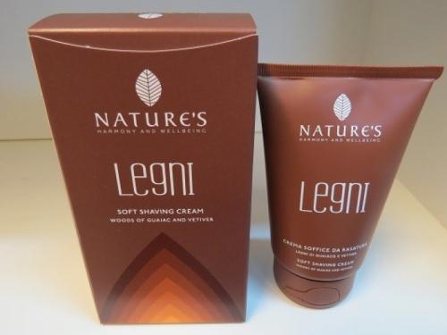 crema soffice da rasatura legni di nature's