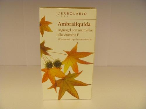 Bagnoschiuma ambraliquida