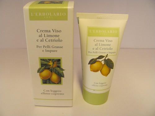 Crema viso al limone e cetriolo