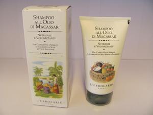 Shampoo olio macassar erbolario