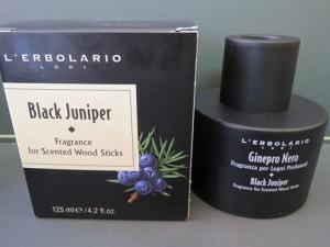 fragranza per legni profumati ginepro nero