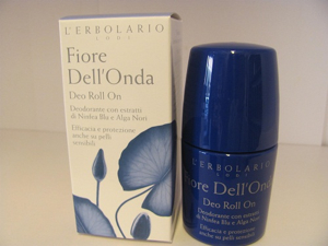 Deo roll on fiore dell'onda
